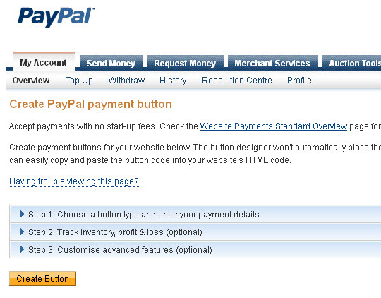 PayPal Buy Button Return URL Vs Website Auto Return Setting ...
